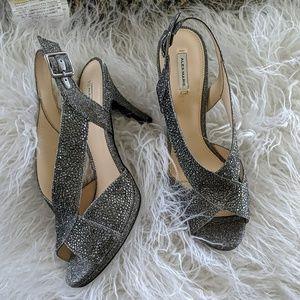 Silver Sparkle Sandles